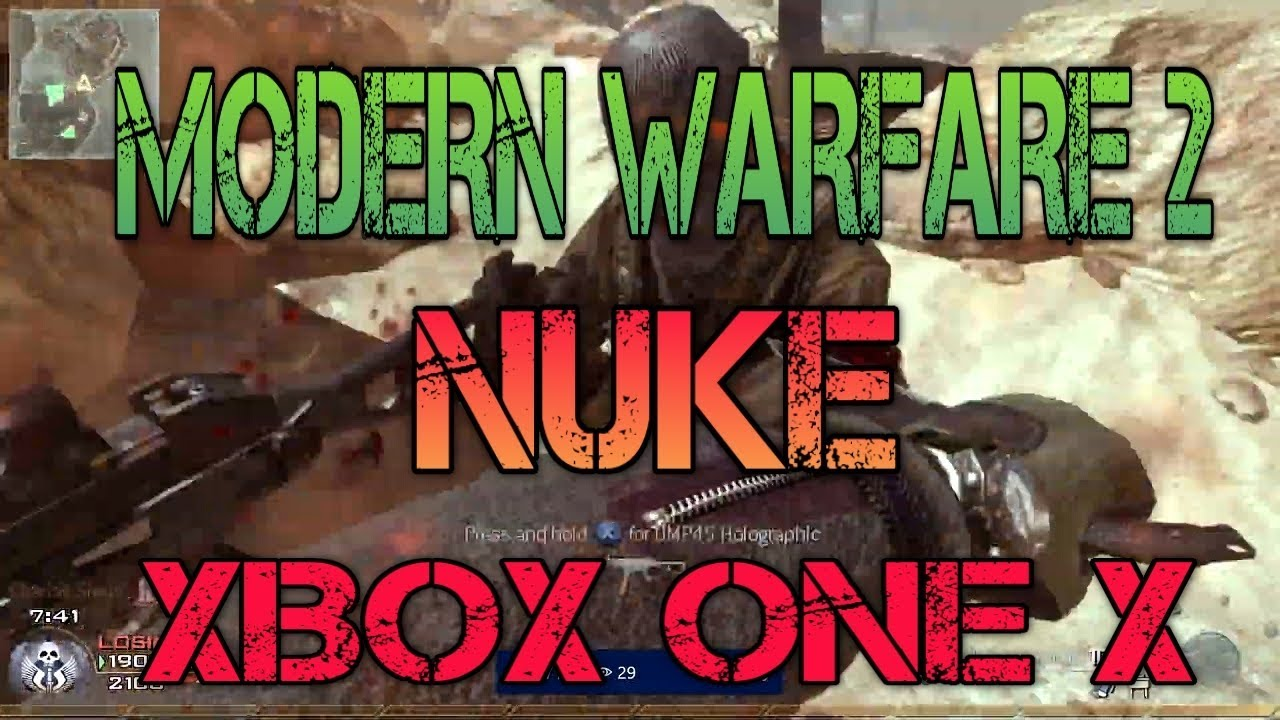 MW2 IN 2019 ON XBOX ONE X XIM APEX (MODERN WARFARE 2)
