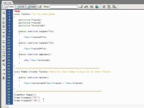 VideoTutorial 4 del Curso de PHP POO