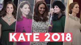 Herzogin Kate: Ihre Outfit Highlights 2018