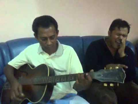 Kau Yang Bernama Seri-Handy Black (Acoustic Rock Cover By Me & Dad)