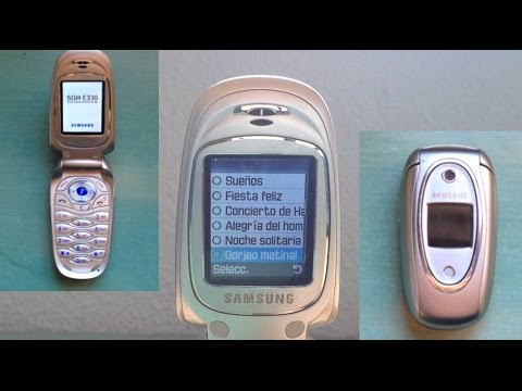 Samsung SGH-E330 All ringtones Part 1
