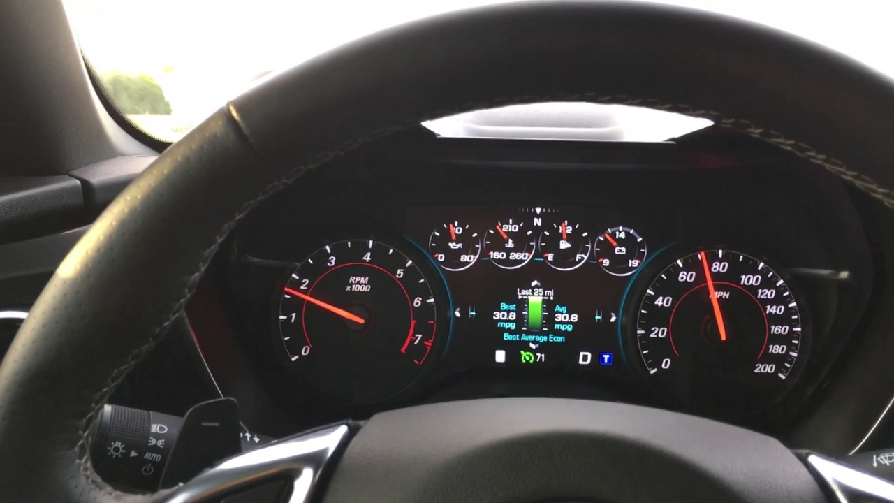 MPG On My 2016 Camaro SS - YouTube