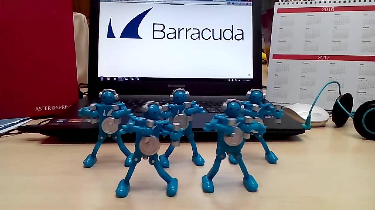 Robot baracuda