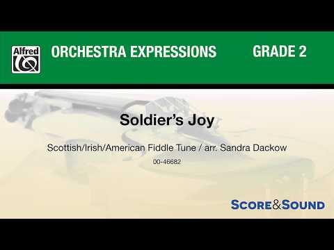 Soldier's Joy, arr. Sandra Dackow – Score & Sound