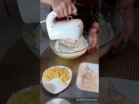 كيكة-بلأنناس-recette-gateau-ananas