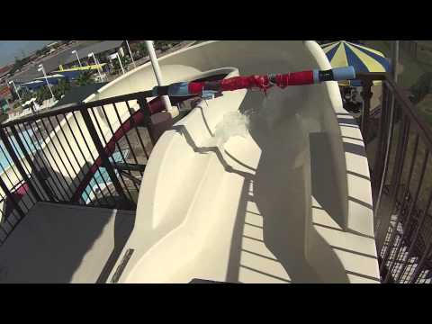 Wetzone Waterpark Virtual Water Slide Tour - Haley's Rapid Ripple