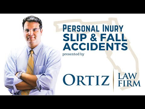 Is my Florida landlord liable for injuries sustained on his/