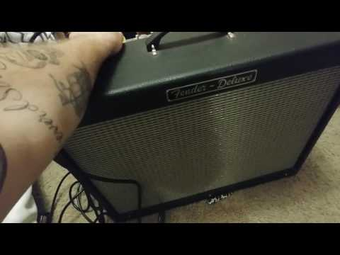 Crackle even after new tubes fender hot rod deluxe