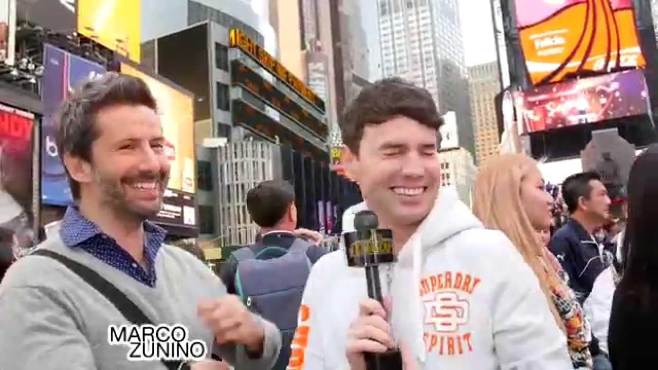 Entrevista Marco Zunino en Broadway - YouTube