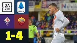 Ex-Wolfsburger Dzeko leitet Roma-Sieg ein: Fiorentina - Roma 1:4 | Serie A | DAZN Highlights