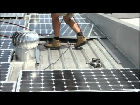 SolarFarmers 30kW Roof Top Installation Time Lapse