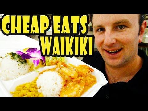 Top 9 Best Cheap Eats in Waikiki Hawaii