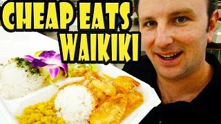 Top 9 Best Cheap Eats in Waikiki Hawaii