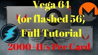 RX Vega 64 (or flashed 56) Registry Editor, Power Play Table and Devcon Tutorial!