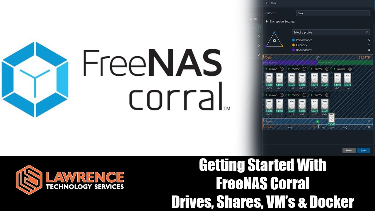 Getting Started With FreeNAS Corral: Setting up Drives, Shares, VM's &  Docker Containers