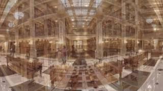 Виртуальная экскурсия по библиотеке Пибоди в Балтиморе