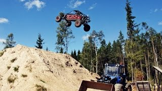 EXTREME INSANE long travel buggy jumps