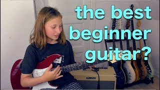 What is the best beginner electric guitar?