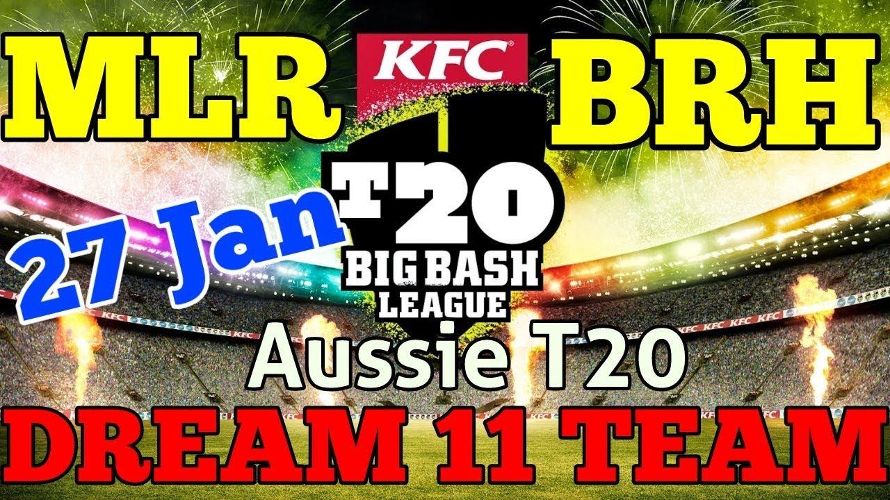 T20 Big Bash Teams