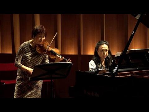 春に始めた同級生バイオリンソナタ全曲公演