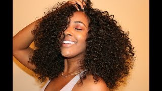 Natural Looking Curly Hair Sensationnel Evenlyn || DIVATRESS.COM