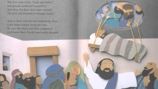 Arch Books - Down Through The Roof Children's Bible Story Book Read Aloud by Australian Voice