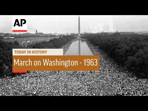 March on Washington - 1963  | Today in History | 28 Aug 16