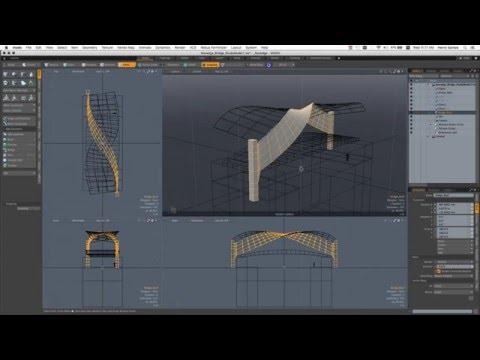 Architectural Design Ideation in MODO 901
