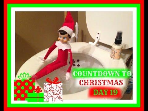 countdown to christmas 2015 day 19 elf on the shelf advent calendar youtube - Countdown To Christmas 2015