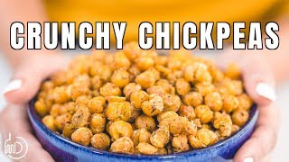 The Best and Easiest Crunchy Roasted Chickpeas Recipe