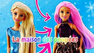 Barbie dans le salon de beauté de Teresa. Vidéos avec les poupées pour les filles.