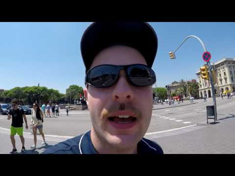 Europe 2017 Vlog: Montjuic and Barceloneta
