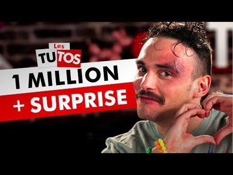 1 MILLION D'ABONNÉS + SURPRISE