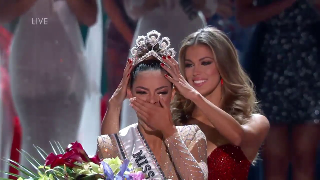 Miss Universo 2018 2019 >> Miss Universe 2017 Crowning Moment - YouTube