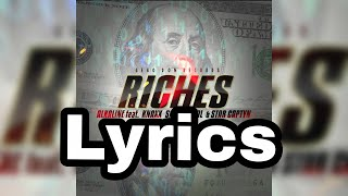 Alkaline - Riches (Knaxx Sashie cool ft Star Captyn) Lyrics