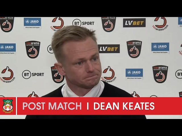 WATCH | Dean Keates after Eastleigh