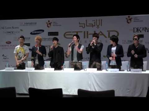 Korean pop phenomenon ZE:A in Dubai
