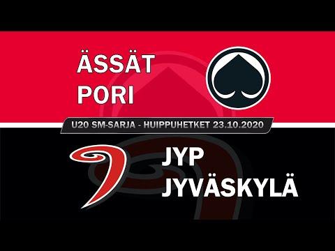 U20 SM-sarja Highlights | Ässät U20 Vs. JYP U20 | 23. Loka 2020