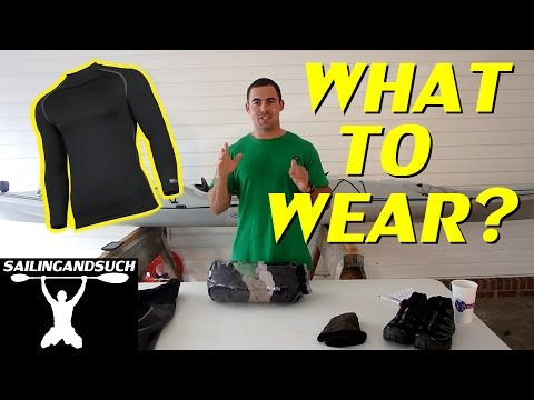 What to Wear Kayak Camping? Cold/Cool Weather