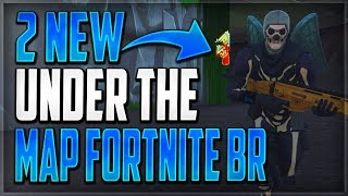 GLITCHES FORTNITE BATTLE ROYALE - 2 NEW UNDER THE MAP WALLBREACH GOD MODE GLITCHES FORTNITE BR