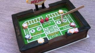 The Cake Don Craps Table Cake