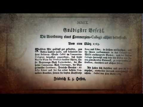 Jubiläumsfilm der IHK Kassel-Marburg: 250 Jahre Wirtschaftsgeschichte