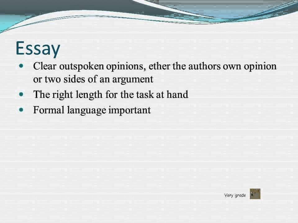 Formal writing, Essay Article Report - YouTube