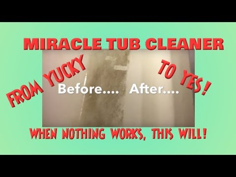 Bathtub Cleaning Hack! Clean A Stained Bathroom w/ KABOOM TOILET BOWL CLEANER *Miracle Tub Cleaner!