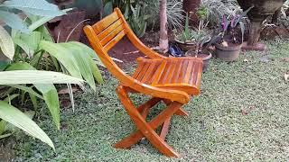 Teak Chair - Modern Garden Furniture Vixidesign.com