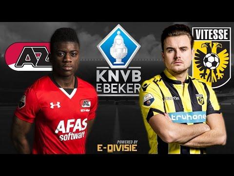Aristote Ndunu - Paskie Rokus | AZ - Vitesse | KNVB eBeker | E-Divisie