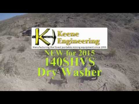 Keene Enginering's 140S Dry Washer with Pat Keene
