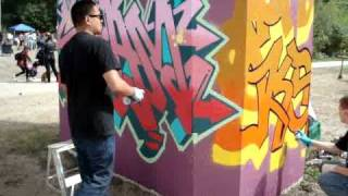 Graffiti Part 2 'Skam'