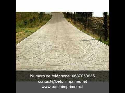 Beton imprime bordeaux toulouse monaco nantes caen for Dijon beton tarif