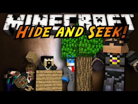 Minecraft Mini-Game : HIDE AND SEEK!